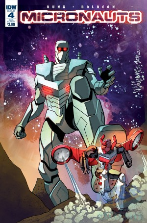 IDW Hasbro Universe - Rom & The Micronauts Starts in December
