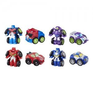New Transformers: Rescue Bots Flipracers Wave 2 and Megabots Wave 3