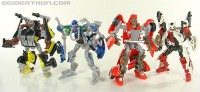 Transformers News: New Toy Galleries: HFTD Brimstone, Hubcap, Crankstart and Backfire