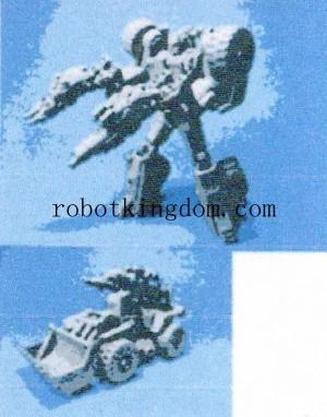 Transformers News: Takara Tomy Transformers Robots in Disguise TAV07 Roadblock Image
