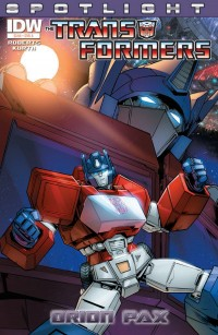 Transformers News: Transformers Spotlight: Orion Pax Preview