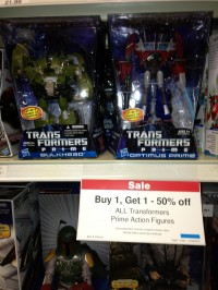 Transformers News: First Edition Voyagers Sighted At Toys R Us In St. Louis