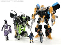 Transformers News: New Toy Galleries: Human Alliance DOTM Bumblebee, HFTD Shadow Blade Sideswipe, and DOTM Skids