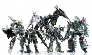 Transformers News: In-Hand Images of Platinum Edition Dinobots Unleashed Set