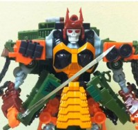 Transformers News: Headrobots Blood the Dark Warrior Video Review
