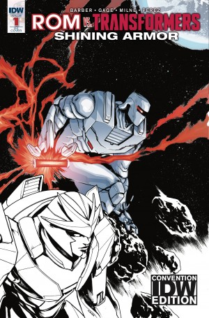 Transformers News: #SDCC 2017 Exclusives & Debuts from IDW & Top Shelf, feat Rom vs Transformers