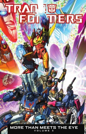 Transformers News: IDW Transformers: More than Meets the Eye Vol. 5 Preview