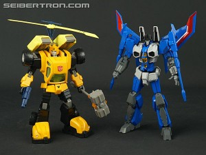 Transformers News: New Galleries Flame Toys Furai Bumblebee and Thundercracker