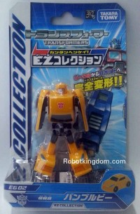 Transformers News: In-Package Images: Takara Tomy Transformers EG Collection