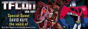 Voice Actor David Kaye To Attend TFcon DC 2017