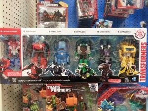 Transformers Robots in Disguise One-Step Changers Six Pack Sighted at US Retail, New Optimus Mold