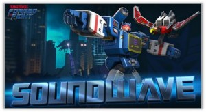 Soundwave Joins 'Transformers: Forged to Fight' Mobile Game