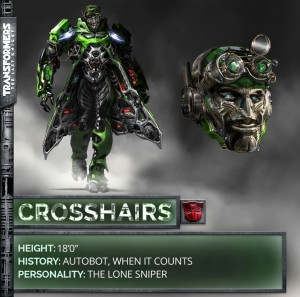 Transformers News: Transformers 5: The Last Knight Crosshairs Robot Mode Revealed!