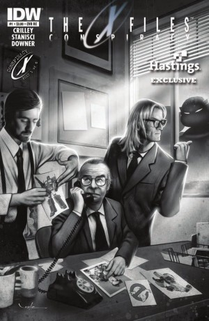 Transformers News: IDW The X-Files: Conspiracy #1 Review