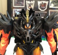 Transformers News: In-Hand Images: Transformers Prime Beast Hunters Ultimate Class Beast Fire Predaking