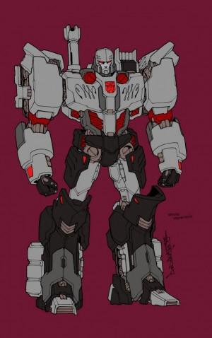 Transformers News: Alex Milne MTMTE Autobot Megatron Concept Sketch