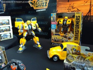 Bumblebe Movie Toys on Display at SDCC 2018 including Target Exclusive Soundwave and Casettes #HasbroSDCC