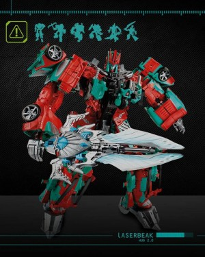 Official Promotional Images - Fan Built Combiner Victorion and Torchbearers