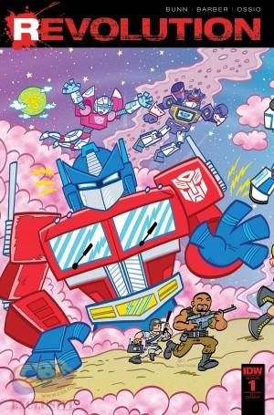 New Creators Video - IDW / Hasbro Comics REVOLUTION Crossover