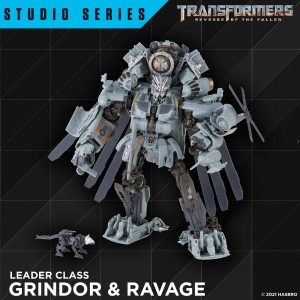 Studio Series Grindor & Ravage, Jolt, ROTF Bumblebee, and BB Thrust Officially Revealed