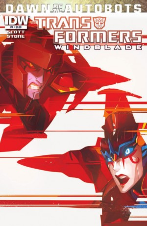 Transformers News: IDW Transformers: Windblade #4 (Dawn of the Autobots) Preview
