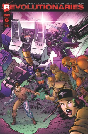 Transformers News: Variant Cover for IDW Revolutionaries #6 by Tone Rodriguez