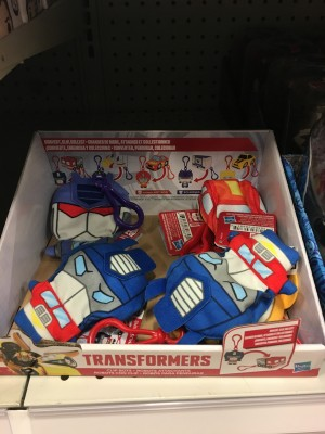 Transformers News: Transformers Clip Bots Converting Plush Toys Found at US Retail