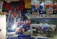 Transformers News: New Sightings: Transformers Prime Cyberverse Optimus Maximus, Bot Shots 3-Packs Wave 2, Kre-O Stealth Bumblebee