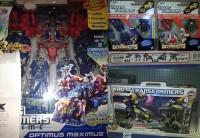 New Sightings: Transformers Prime Cyberverse Optimus Maximus, Bot Shots 3-Packs Wave 2, Kre-O Stealth Bumblebee