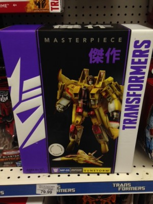 Transformers News: Hasbro Masterpiece Sunstorm Sighted at US Retail
