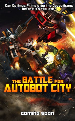 """Transformers News: Transformers: Legends """"The Battle for Autobot City"""""""