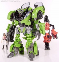 Transformers News: New Toy Gallery: Human Alliance Skids with Arcee and Mikaela