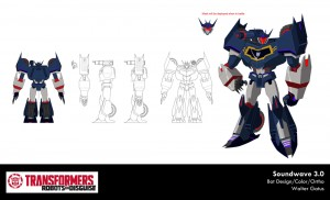 Transformers News: Transformers: Robots in Disguise Character Art Rundown