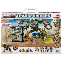 Transformers News: Kre-O Destruction Site Devastator Now Available Online