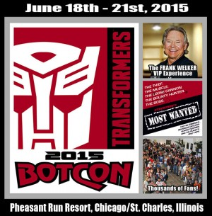 Botcon 2015: More Non-Attending Packages; Frank Welker Passes Opened For Mini-Con / Protoform Packages