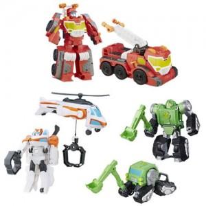 New Images of Transformers: Rescue Bots Megabots Wave 3 Quick Dig Boulder