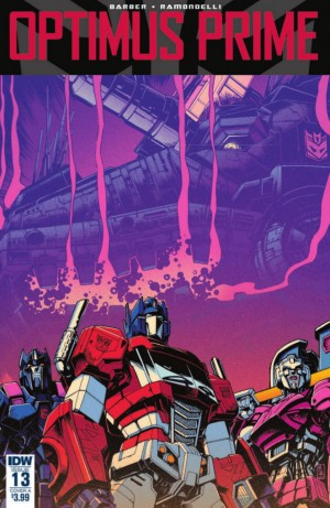Full Preview for IDW Optimus Prime #13