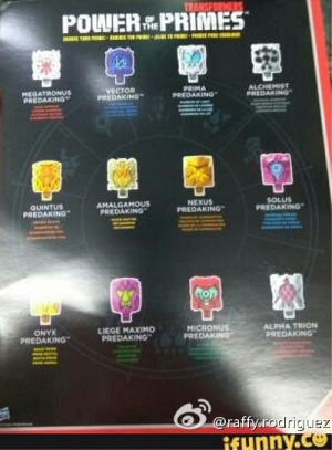 Transformers Power of the Primes Missing Prime Masters Teased with Predaking Set