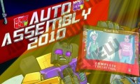 Transformers News: Auto Assembly 2010 Announces Exclusive IDW Comic...!