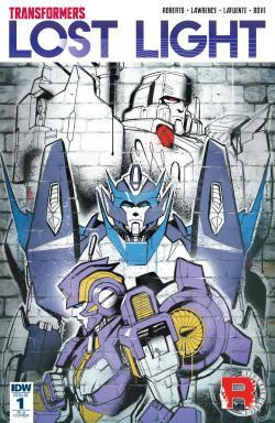 Interview with James Roberts about Transformers: Lost Light