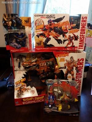 Age of Extinction Stomp & Chomp Grimlock Available ToysRUs.com and HasbroToyShop.com
