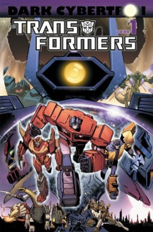 Transformers News: IDW Transformers Dark Cybertron Vol 1 Amazon Listing, Cover Revealed