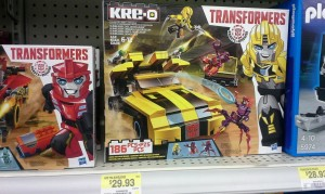 First Transformers Robots in Disguise Kre-o set sighting at Canadian retail
