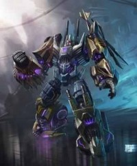 Transformers: Fall of Cybertron Bruticus Concept Art