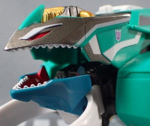 TakaraTomy Transformers Adventure: TAV-47 Crazybolt In And Out Of Packaging