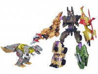 Transformers News: BBTS Sponsor News: Shared Exclusive - Platinum Grimlock vs Bruticus, Ultra Magnus