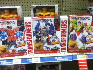 Transformers: Age of Extinction ConstructBots Dinobot Warriors Drift and Lockdown Sighted at Retail
