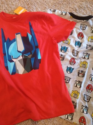 Transformers News: Kid's Transformers Shirts at Gymboree Stores