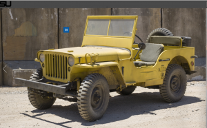 Transformers News: Transformers Bumblebee Movie Willys Jeep (First Altmode) for Auction