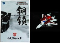 Transformers News: RobotKingdom.com Site Sponsor News - Cybertron Con Exclusives Grimlock and Skyfire
